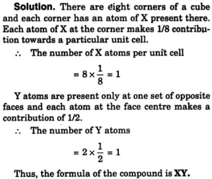 4 Compound formed by elements x and Y crystallizes