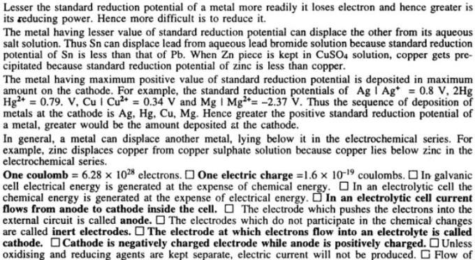 4 Electrochemistry gyan