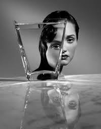 4 face through glass