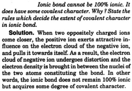 4 ionic bond covalent character