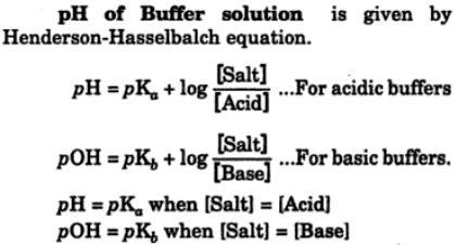 4 pH of Buffer Solution