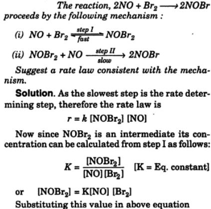 4 the reaction 2NO+Br2 = 2NOBr proceeds