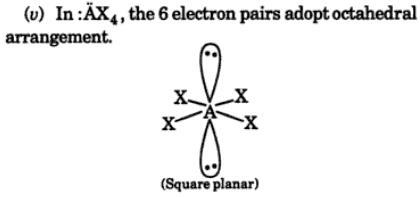 4 VSEPR postulates of theory