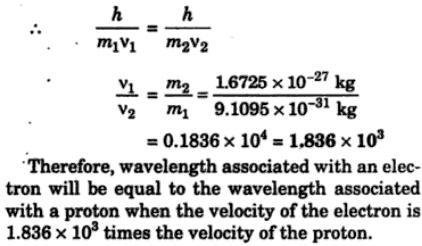 4 When would the wavelength associated with