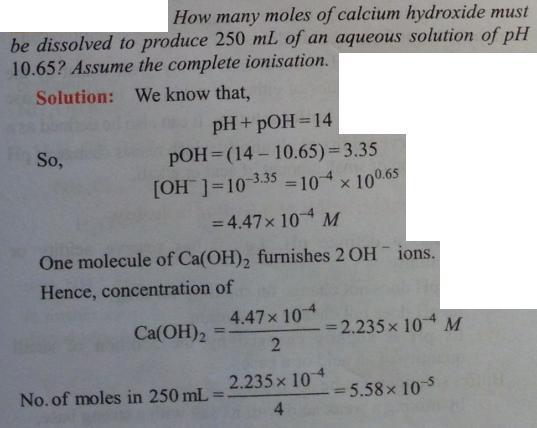 40 Ionic equilibrium dissociation constant