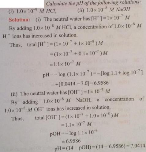 42 Ionic equilibrium dissociation constant