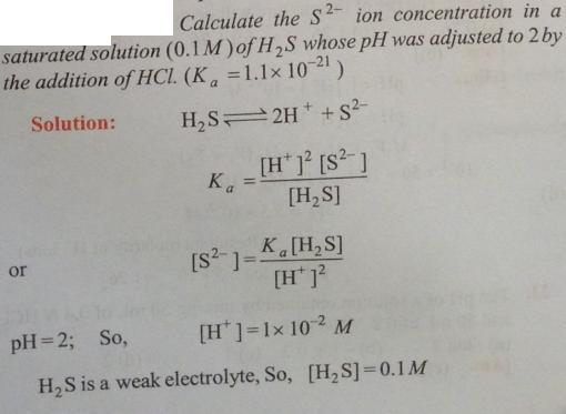 43 Ionic equilibrium dissociation constant