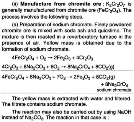 46b Potassium dichromate preparation
