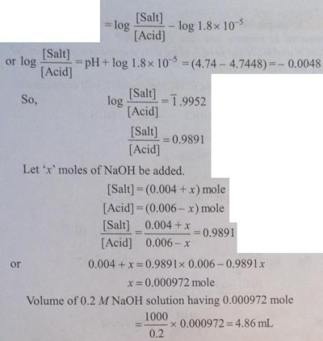 48 Ionic equilibrium dissociation constant