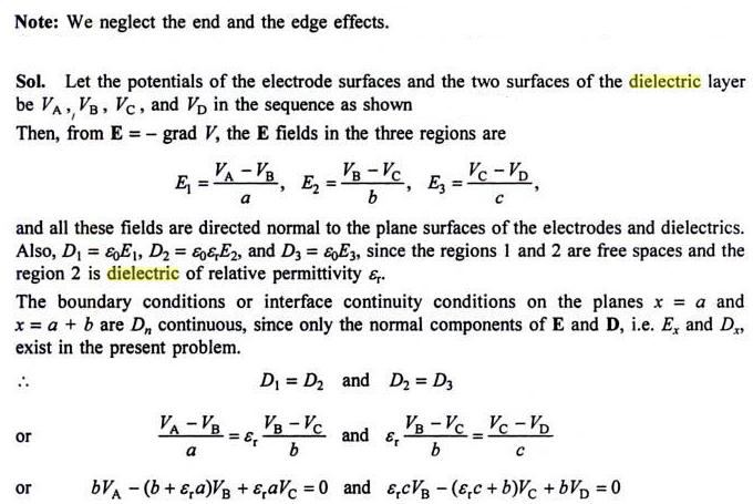 48b Important Partial dielectric in Capacitor