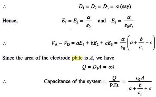 48c Important Partial dielectric in Capacitor