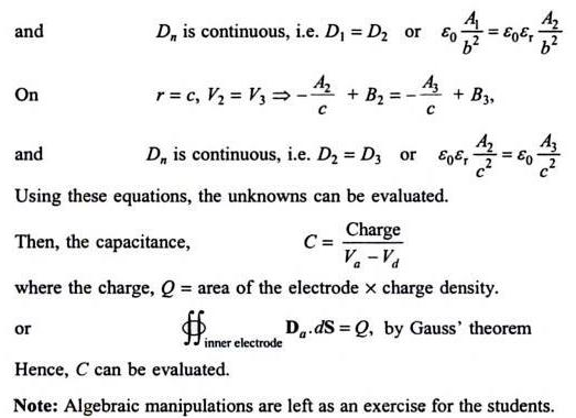 49e A spherical capacitor