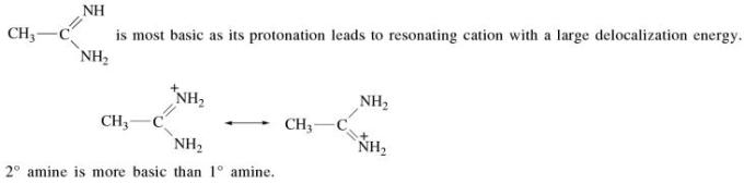 4a 2nd degree amines are more basic than first degree