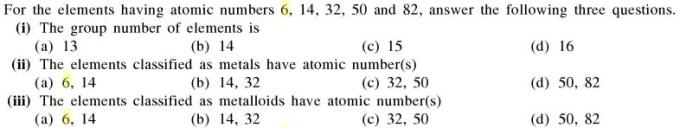 4a Answer these on elements