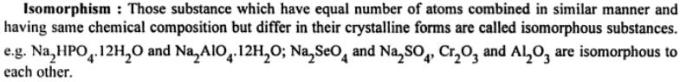 4a Isomorphism atoms combined in similar manner