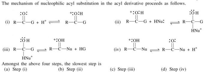 4a mechanism of nucleophile acyl substitution