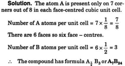 5 binary compound AB adopts fcc