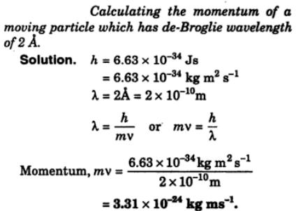 5 Calculate the momentum of a moving particle