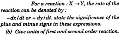 5 decide on the rate of reaction