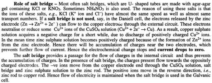 5 Role of salt bridge