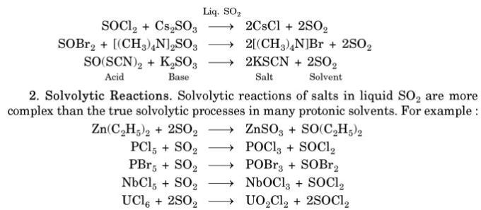 5 Solvolytic Reactions