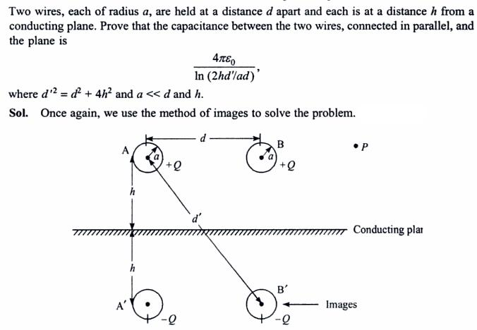 50d Reflection method of solving electrostatic force
