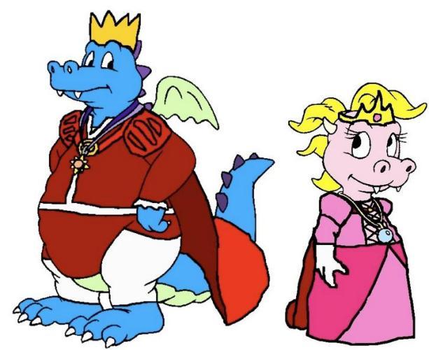 50g Crocodile Couple