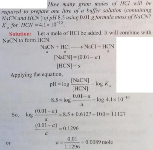 51 Ionic equilibrium dissociation constant