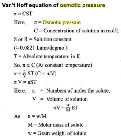 51f osmotic pressure