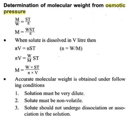 51g osmotic pressure
