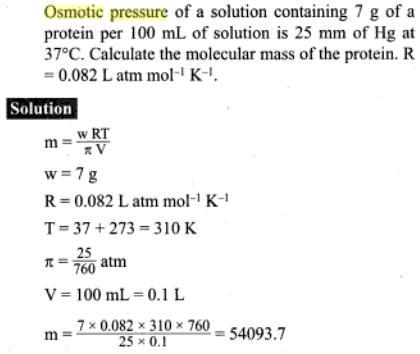 51i osmotic pressure
