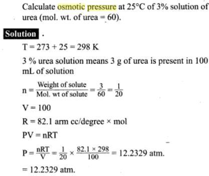 51j osmotic pressure
