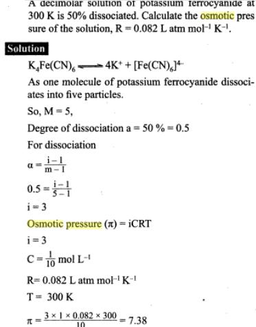 51l osmotic pressure and vant hoff factor