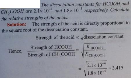 52 Ionic equilibrium dissociation constant