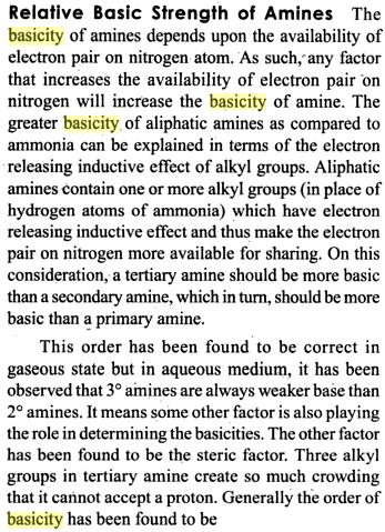 53a Relative Basic strength of Amines