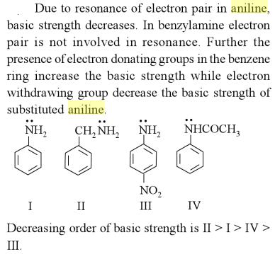 54b Relative Basic strength of Amines