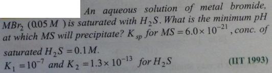 55 Ionic equilibrium dissociation constant