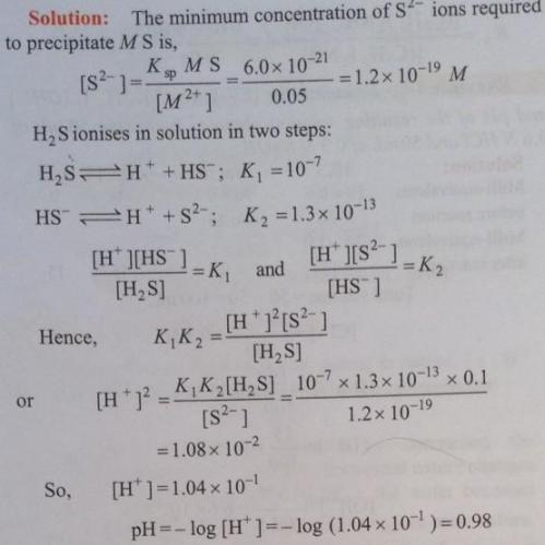 56 Ionic equilibrium dissociation constant