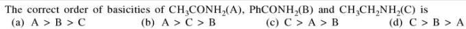5a correct order of basicity