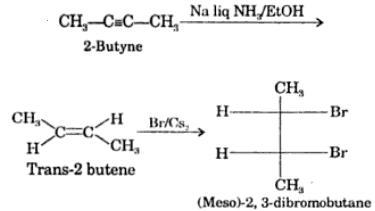 6 2-Butadyne reacting with Sodium Na liquid NH3