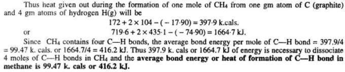 6 Bond Energy