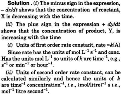 6 decide on the rate of reaction