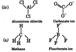 6 give examples of one ionic one molecular