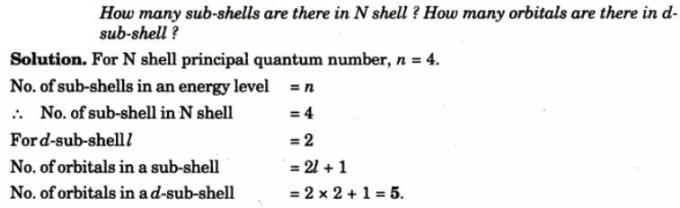 6 How many subshells are there in N shell