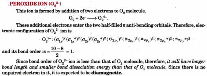 6 Peroxide ion O2 minus2