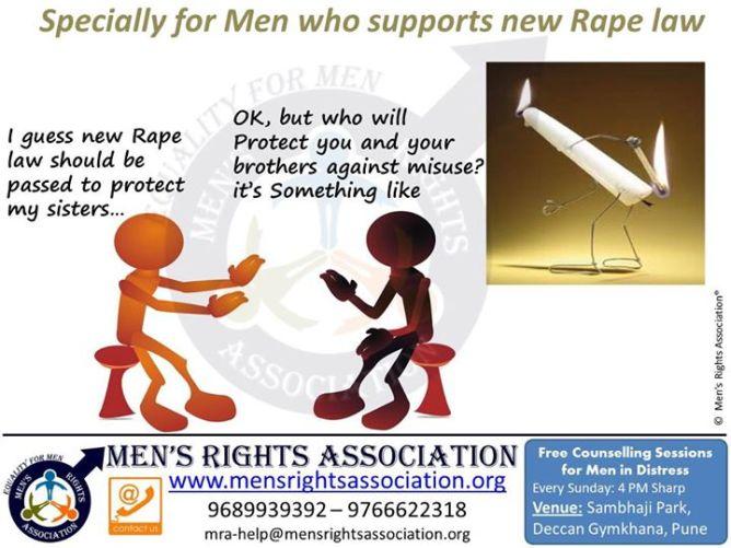 6 Rape law against men