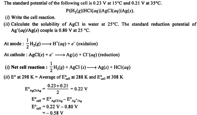 6 Standard Potential of cell