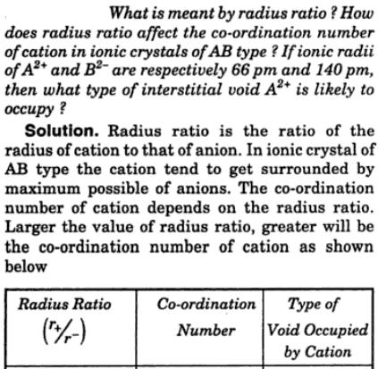 6 what is meant by radius ratio