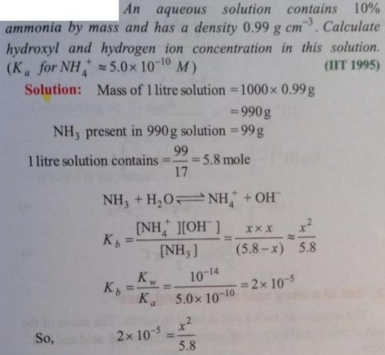 66 Ionic equilibrium dissociation constant