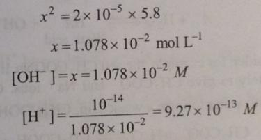 67 Ionic equilibrium dissociation constant